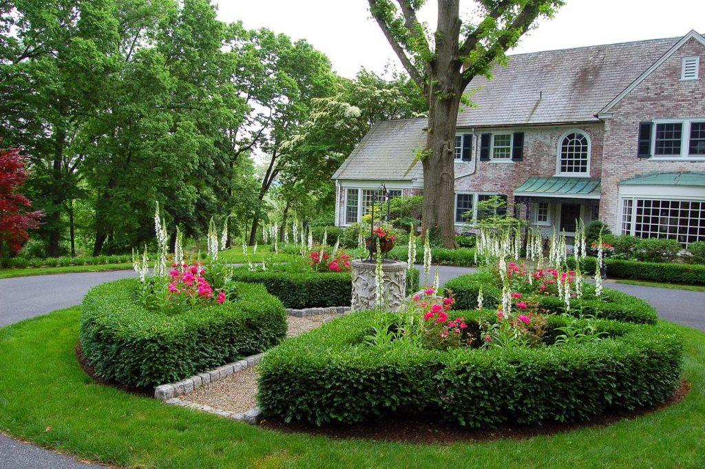 Gardening Along Driveways